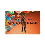 Spectacular Girl Rectangle Magnet (10 pack)