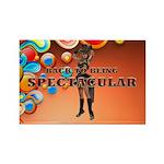 Spectacular Girl Rectangle Magnet (100 pack)