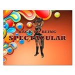 Spectacular Girl Small Poster