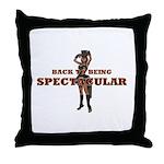 Spectacular Girl Throw Pillow