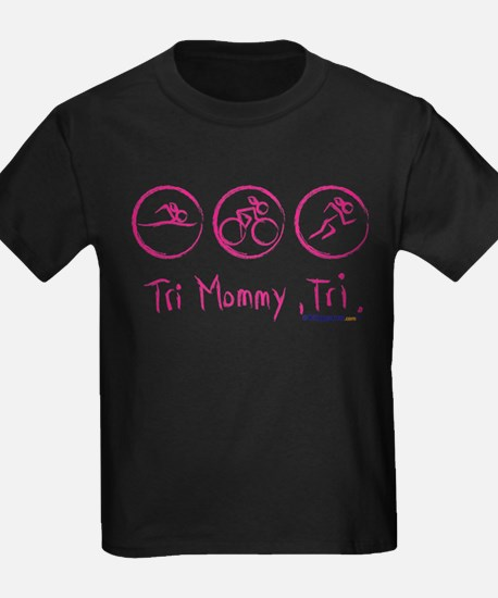 2-tri_mommy_pink T-Shirt