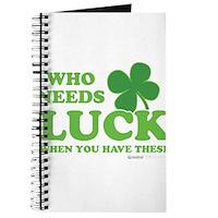 Who Needs Luck Journal