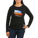 Velomobile Bike Women's Long Sleeve Dark T-Shirt