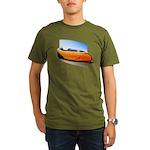 Velomobile Bike Organic Men's T-Shirt (dark)