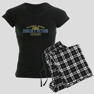 Rocky Mountain National Park Women's Dark Pajamas