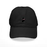 Shar Pei Breast Cancer Support Black Cap
