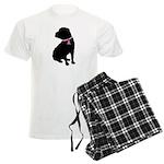 Shar Pei Breast Cancer Support Men's Light Pajamas