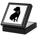 Shar Pei Breast Cancer Support Keepsake Box