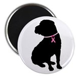 Shar Pei Breast Cancer Support Magnet