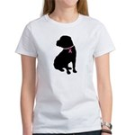 Shar Pei Breast Cancer Support Women's T-Shirt
