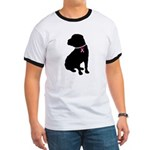 Shar Pei Breast Cancer Support Ringer T
