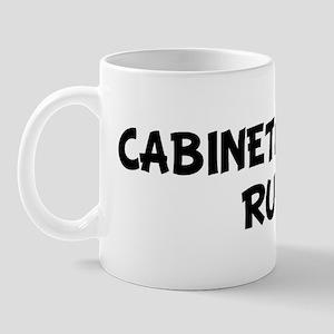 CABINETMAKERS Rule! Mug