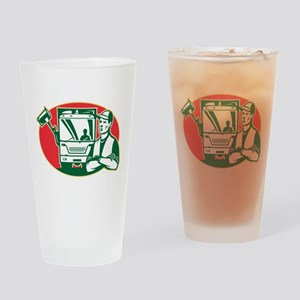 Garbage Collector Drinking Glass