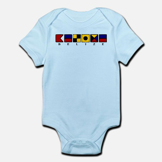 Nautical Belize Infant Bodysuit
