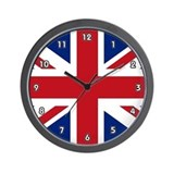 Britain flag Wall Clocks