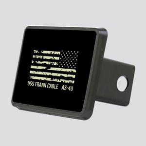 USS Frank Cable Rectangular Hitch Cover