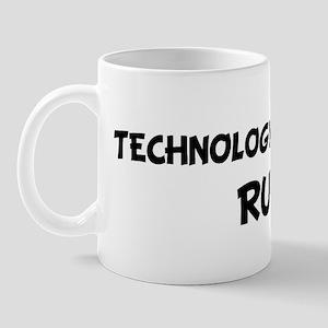 TECHNOLOGY TEACHERS Rule! Mug