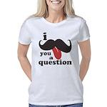 I Mustache You a Question Women's Classic T-Shirt