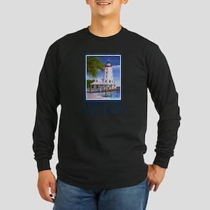 Faro Blanco Lighthouse Tings Long Sleeve Dark T-Sh
