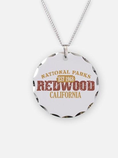 Redwood National Park CA Necklace