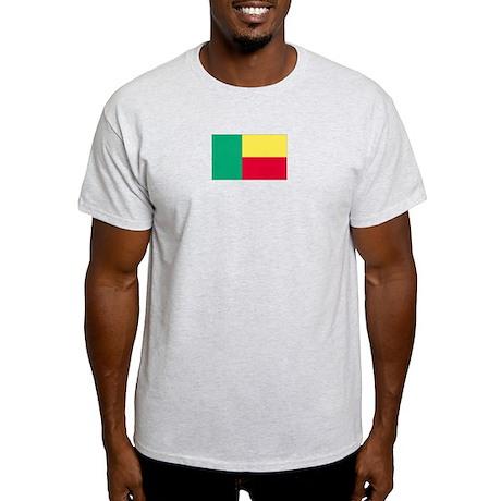 Benin Ash Grey T-Shirt