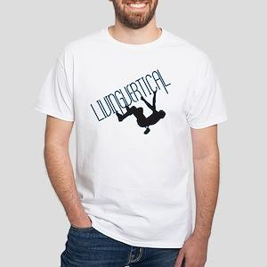Living Vertical White T-Shirt