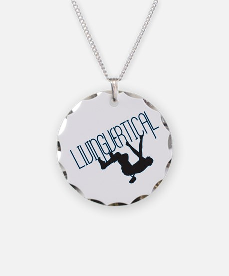 Living Vertical Necklace