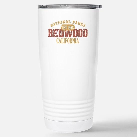 Redwood National Park CA Stainless Steel Travel Mu