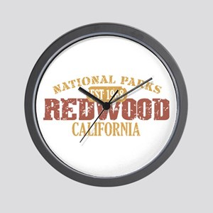 Redwood National Park CA Wall Clock