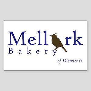 Mellark Bakery Sticker (Rectangle)