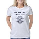 Blue Logo with Seal Women's Classic T-Shirt