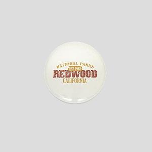 Redwood National Park CA Mini Button