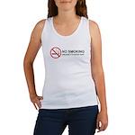 No Smoking Women's Tank Top