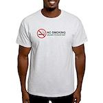 No Smoking Light T-Shirt