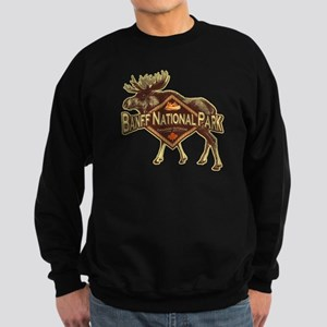 Banff Natl Park Moose Sweatshirt (dark)