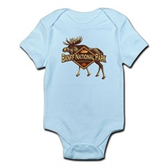 Banff Natl Park Moose Infant Bodysuit