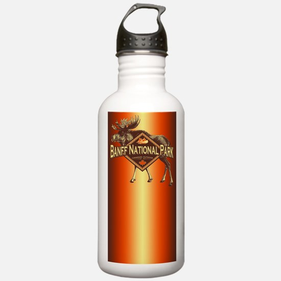 Banff Natl Park Moose Water Bottle