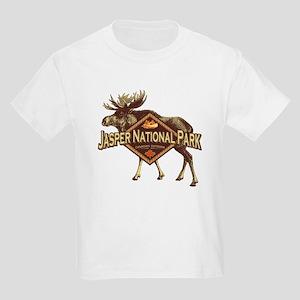 Jasper Natl Park Moose Kids Light T-Shirt