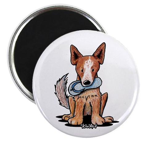 """Australian Cattle dog 2.25"""" Magnet (100 pack)"""