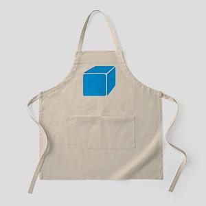 Blue cube Apron