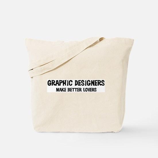 Graphic Designers: Better Lov Tote Bag