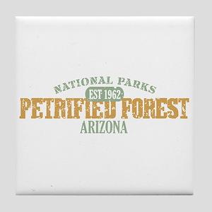 Petrified Forest Arizona Tile Coaster