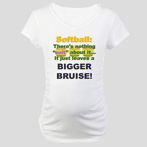 508dacf4980 Fastpitch Softball Maternity T-Shirts - CafePress