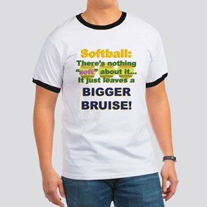 Softball = Not Soft Ringer T
