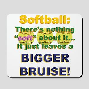 Softball = Not Soft Mousepad