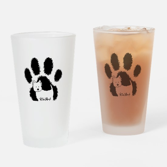 Pawfect Westie Drinking Glass