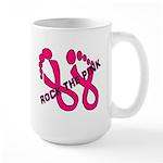 Rock The Pink Large Mug