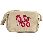 Rock The Pink Messenger Bag