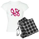 Rock The Pink Women's Light Pajamas
