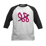Rock The Pink Kids Baseball Jersey